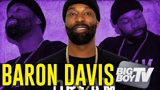 Baron Davis on His New Show 'WTF Baron Davis', Wanting to Play For The Lakers & Finals Predictions