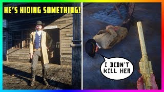 The Valentine Sheriff Has A DARK & CREEPY Secret That You Don't Know About In Red Dead Redemption 2!