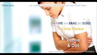 Ventre - Dos -  3ème Chakra - Digestion