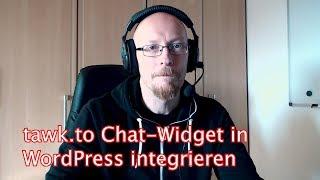 tawk.to Chat widget in WordPress integrieren