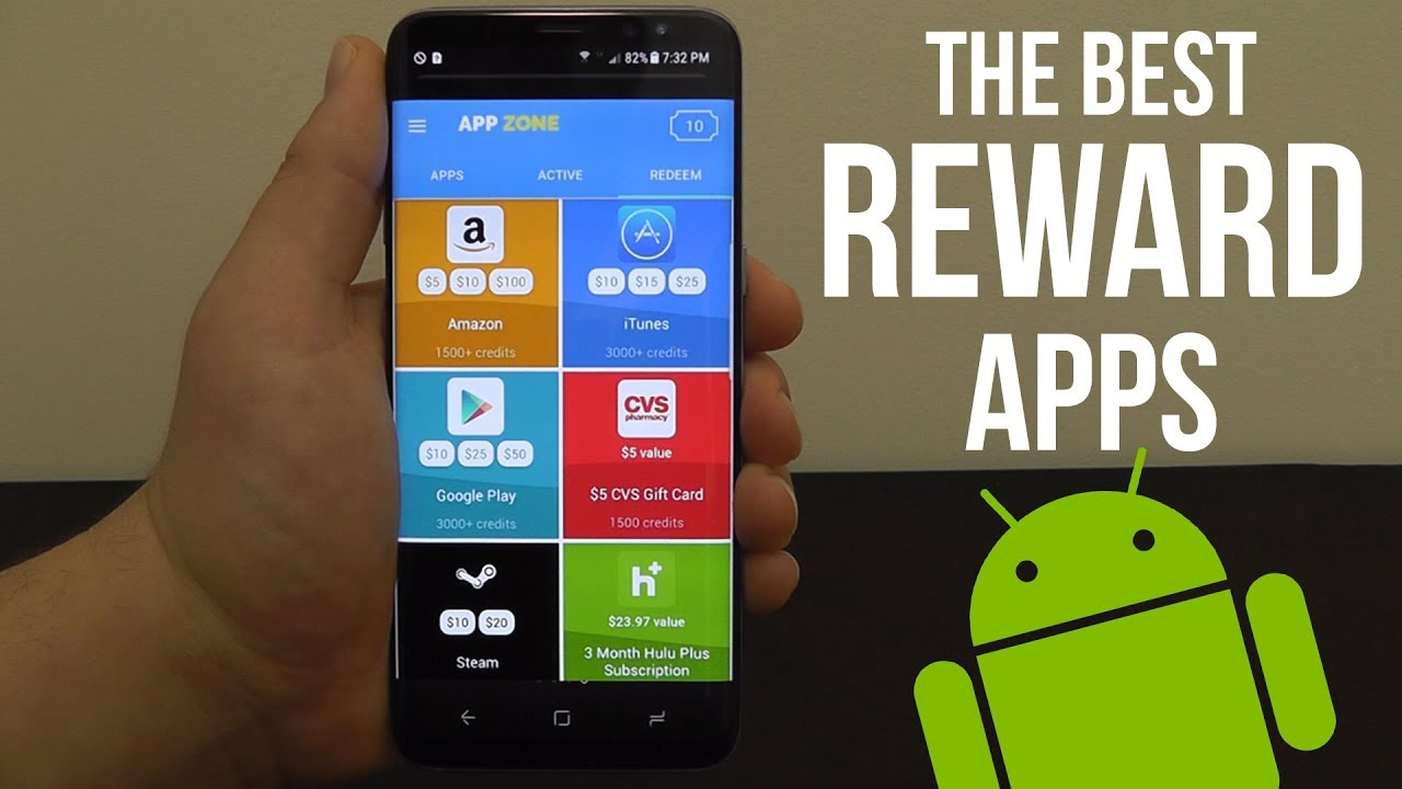 Best Reward Apps for Android 2017 - Earn Gift Cards & Cash - YouTube