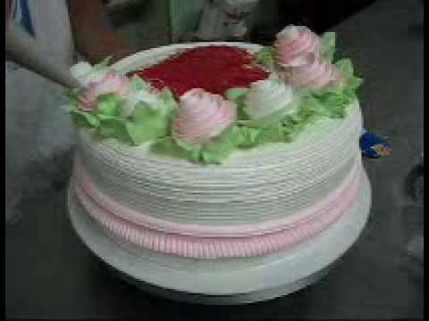 decoracion de tortas en crema chantilly  el deco Videos De Viajes