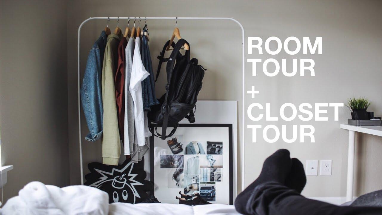 Room Tour + Closet Tour: Minimal U0026 Modern   YouTube