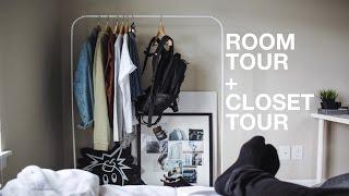 Room Tour + Closet Tour: Minimal & Modern