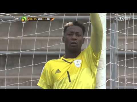 Namibie vs Guinée  mondial eliminatoire