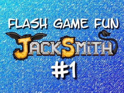 Flash Game Fun - Jacksmith Part 1 - Awful Weapons