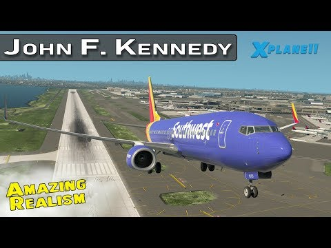 JFK International with Live ATC  and Real Airline Flight Schedules Ep 4