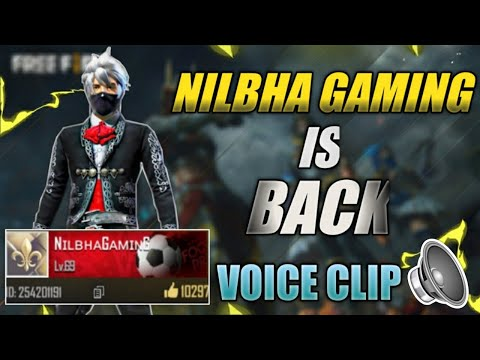 Global Top 1 Nilbha Gaming Id Recovered    Voice Message Of Nilbha Gaming    Full Story Explained!