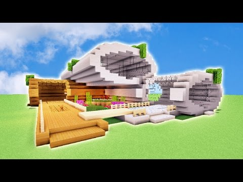 Tuto belle maison minecraft ultra moderne youtube for Belle maison minecraft