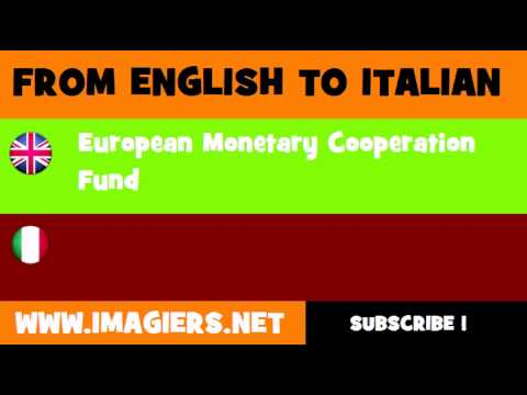 FROM ENGLISH TO ITALIAN = European Monetary Cooperation Fund