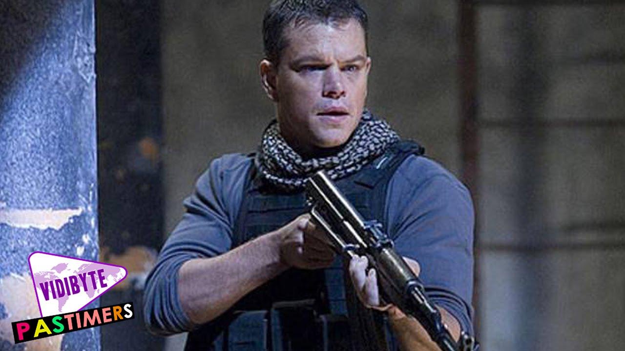 Top 10 Matt Damon's Best Movies - YouTube