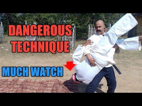 SELF DEFENSE DANGEROUS TECHNIQUE