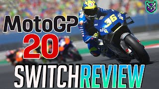 MotoGP 20 Switch Review - Switch's Best Racing Sim? (Video Game Video Review)