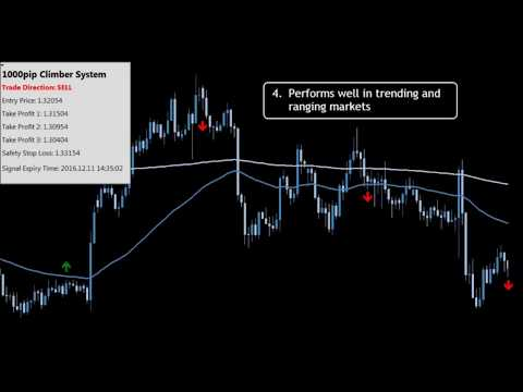 The easy way to stress free trading! 1000pip climber system