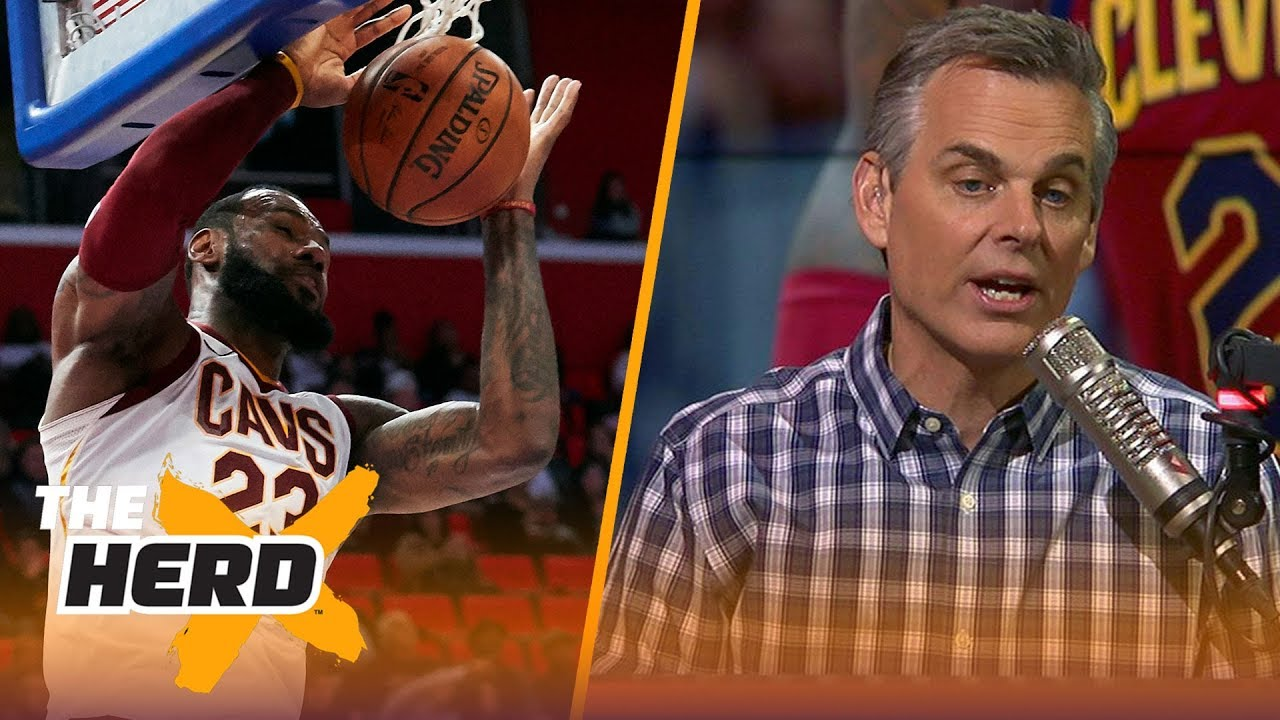 4646443dcc0e 08 29 Colin breaks down the percentages of where LeBron James will land if  he leaves the Cavs