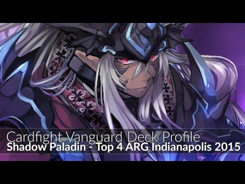 Revengers Shadow Paladin - Top 4 ARG Indianapolis - Cardfight Vanguard Deck Profile 2015