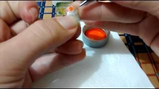 Unhas Aquário / Uñas Pecera / Aquarium Nails