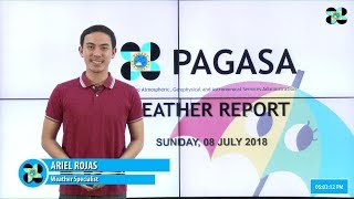 Public Weather Forecast Issued at 4:00 PM July 8, 2018