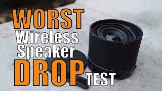Worst Wireless Speaker Ever Made? Unboxing and Drop Test!