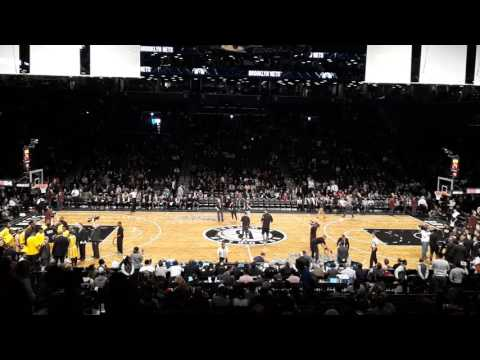 Brooklyn Nets 2016-17 Season Home Opening Show against Indiana Pacers 10.29.2016