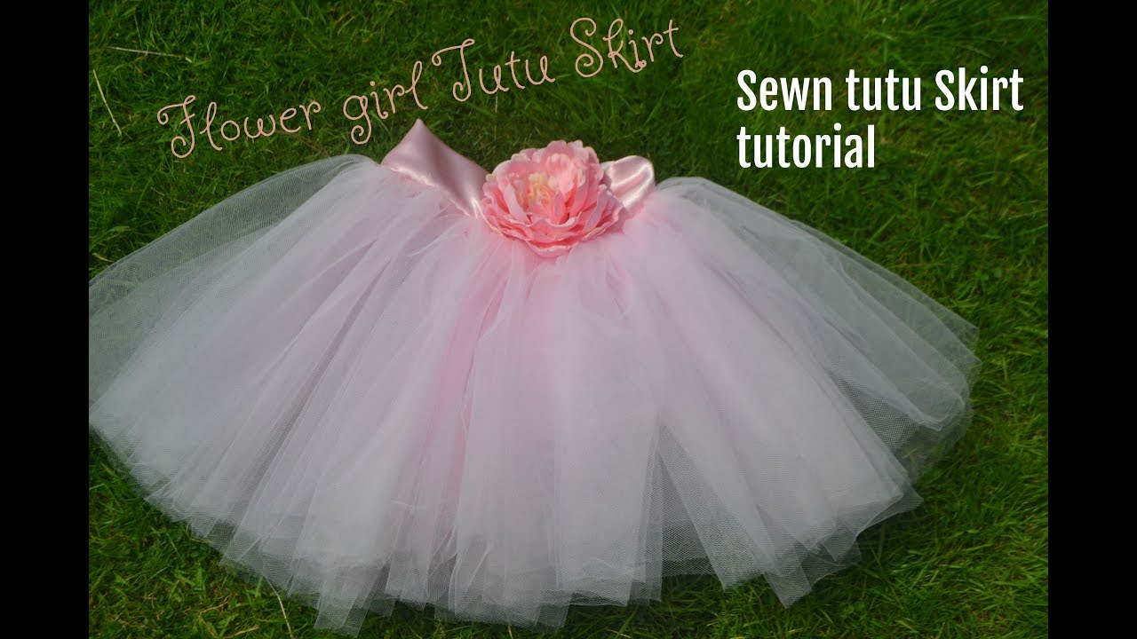 Flower Tutu Skirt Sewn Method