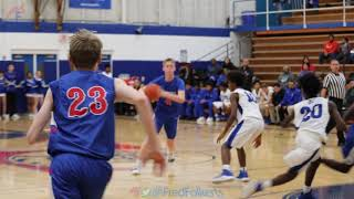 Larkin High School hosts Glenbard South High School Varsity Boys Basketball