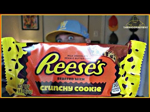 reese's®-crunchy-cookie-peanut-butter-cup-review-|-mid-week-snacks