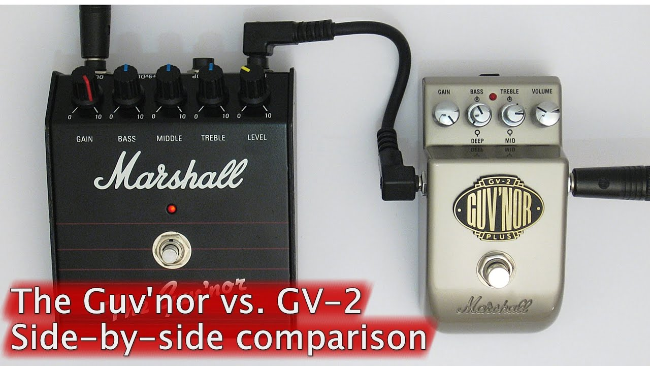 Marshall GV-2 Guv'nor Plus