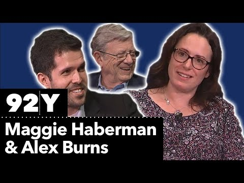 In the News with Jeff Greenfield: Maggie Haberman and Alex Burns ...