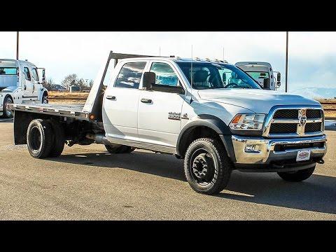 Dodge Ram 5500 >> 2014 Dodge Ram 5500 Hd Crew Cab Flatbed Truck Transwest Truck