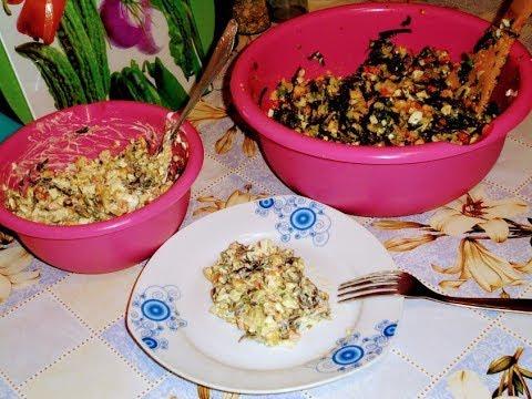 Салат из морской капусты.Любимый салат в нашей семье.