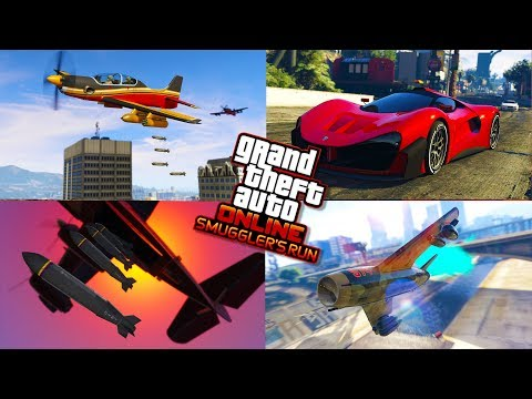 GTA 5  SMUGGLER'S RUN DLC $75,000,000 SPENDING SPREE #2 - GTA 5 SMUGGLER'S DLC GAMEPLAY (4K Stream)