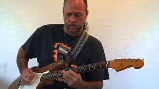 Funky Electric Blues Rock Funk Jazz Fusion Guitar Improvisation