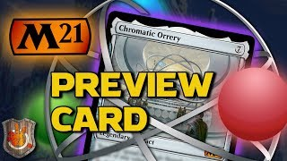M21 Preview Card - Chromatic Orrery | The Command Zone #333 | Magic: The Gathering Commander