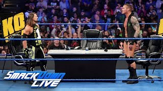 """AJ Styles and Randy Orton brawl on """"The Kevin Owens Show"""": SmackDown LIVE, April 2, 2019"""