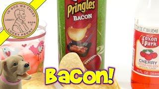 Bacon Flavored Pringles - Cherry Soda - The Big Game Snack!