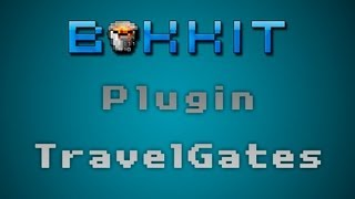 Minecraft - Plugin TravelGates [ Tutorial Bukkit en Español ] Portales de teletransporte