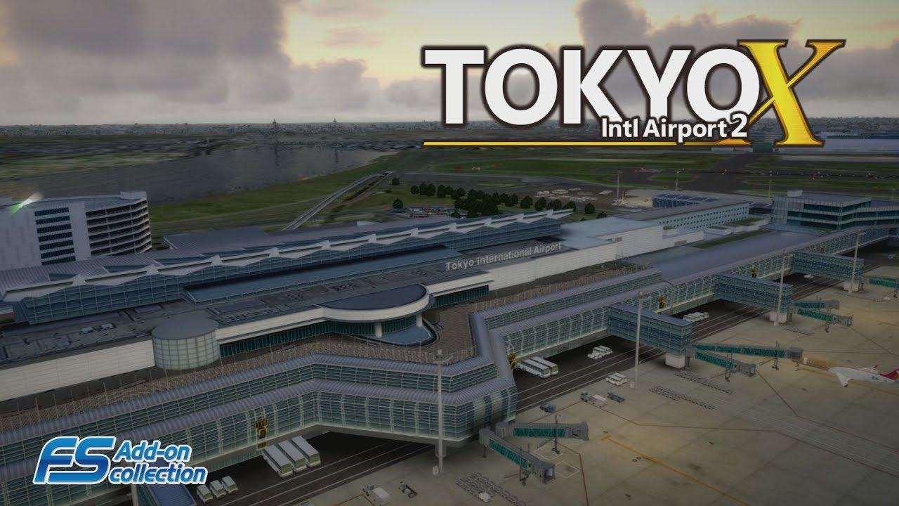 simMarket: TECHNOBRAIN - FS ADD-ON COLLECTION TOKYO INTL AIRPORT 2