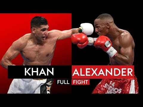 FULL FIGHT: Amir Khan vs Devon Alexander | 13th Dec 2014