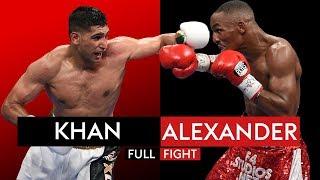 FULL FIGHT: Amir Khan vs Devon Alexander   13th Dec 2014