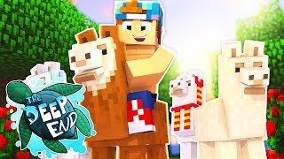 SO MANY LLAMAS!!! | Minecraft The Deep End SMP #12