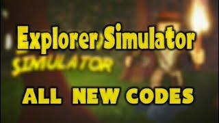 Roblox - Explorer Simulator ALL NEW CODES