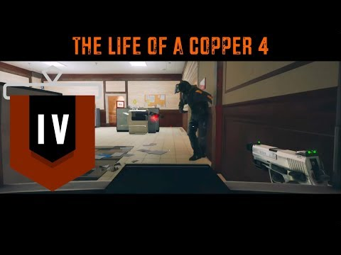How to Make a Defender C4 Himself - The Life of a Copper 4 - Rainbow Six Siege Funny Moments