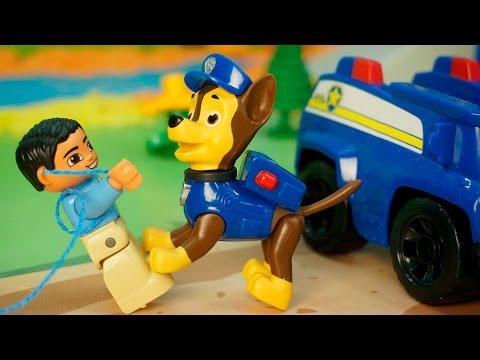 Щенячий патруль новые серии - Браконьер. Щенячий патруль спасает зайчика.Новые мультики Для детей.