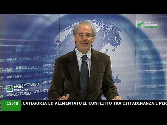 InfoStudio il telegiornale della Calabria notizie e approfondimenti - 24 Marzo 2020