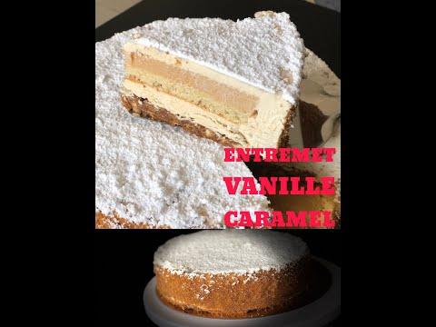 entremet-vanille-caramel-croustillant-pralinÉ-spÉculos-(-equinoxe-cyril-lignac)