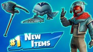 NEW Animal Jacket Skins & Items Fortnite Live Stream!