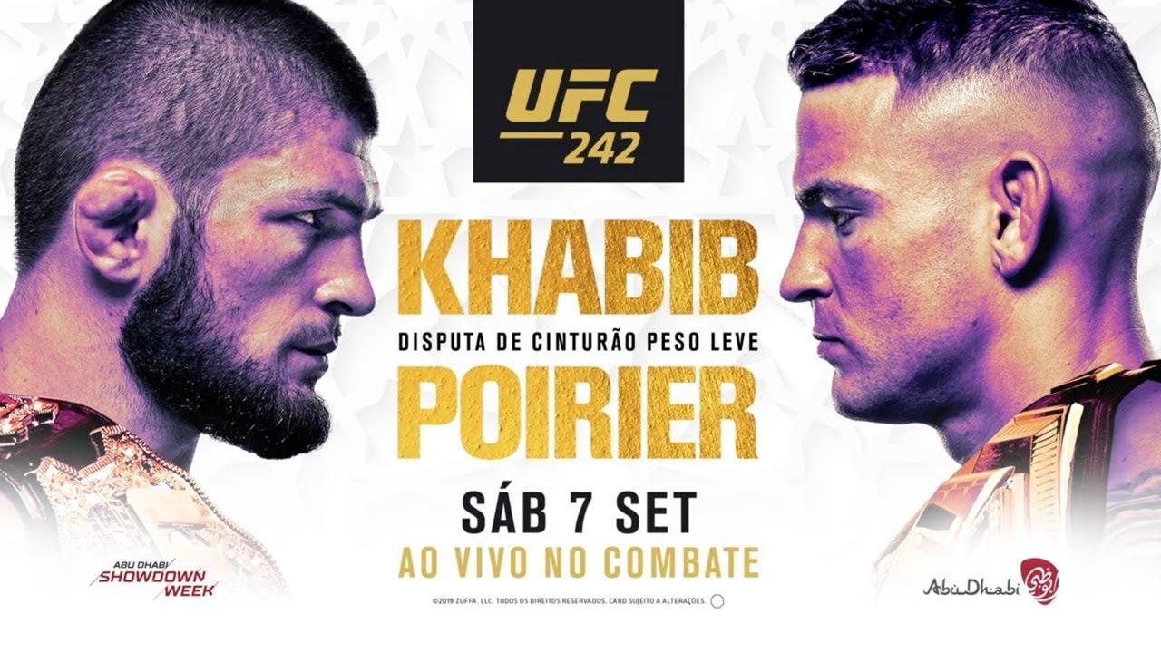 Resultado de imagem para MMA - UFC - LUTAS - CARTAZ - KHABIB NURMAGOMEDOV X DUSTIN POIRIER