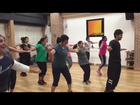 Jaanu Meri Jaan Bolly Fit class at The Square