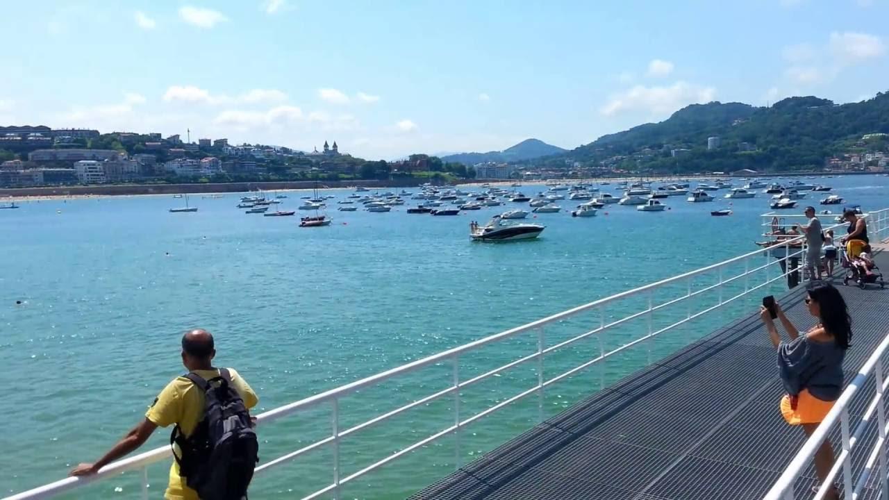 Espagne pays basque donostia san sebasti n centre c t - Office de tourisme san sebastian espagne ...
